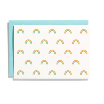 Iron Curtain Press - IC Rainbow Pattern Note Card Set