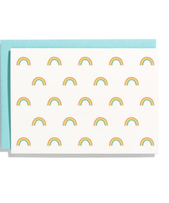 Iron Curtain Press - IC Rainbow Pattern Note Card Set