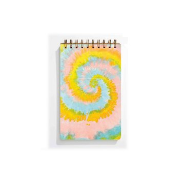 Iron Curtain Press - IC Task Pad Note Pad, Rainbow Tie-Dye