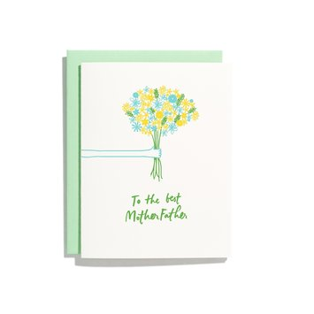 Iron Curtain Press - IC To The Best MotherFather Mother's Day Card