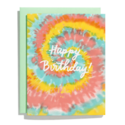 Iron Curtain Press - IC Tie-Dye Rainbow Birthday Card