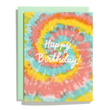 Iron Curtain Press - IC Tie-Dye Birthday Card