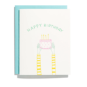 Iron Curtain Press - IC Holding Cake Birthday Card