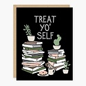 Party of One - POO Treat Yo' Self Card