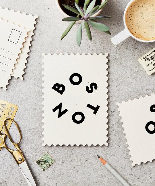 Katie Leamon - KL Boston Postcard, single