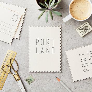 Katie Leamon Portland Postcard