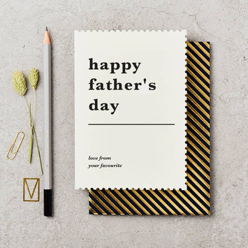 Katie Leamon Father's Day Favorite Card
