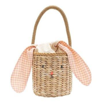 Meri Meri - MEM Bunny Woven Straw Easter Basket Bag