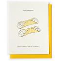 Nourishing Notes NNGCWE0001 - Holy Cannoli Wedding