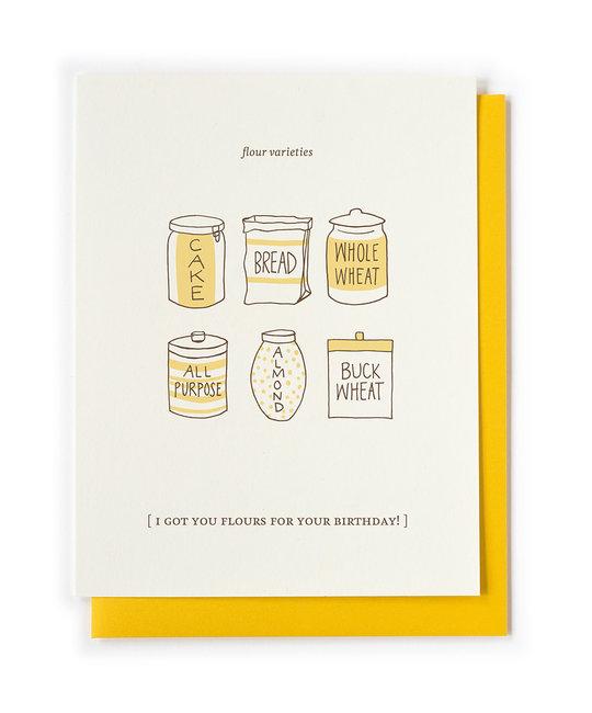 Nourishing Notes NNGCBI0008 -  Flours Birthday