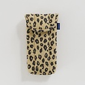 Baggu - BA BAGGU - Honey Leopard Puffy Glasses Sleeve