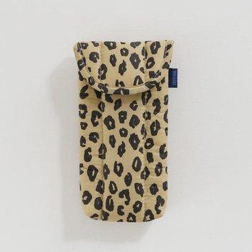 Baggu - BA BAGGU - Honey Leopard Puffy Glasses Sleeve