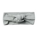 Quincy Mae - QM Quincy Mae Ribbed Turban in Eucalyptus Stripe