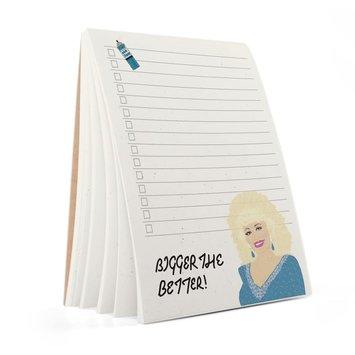 Tay Ham - TH TH NP - Pardon Me Dolly Parton Notepad