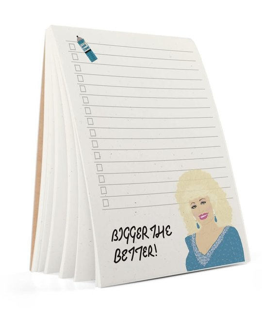 Tay Ham - TH TH NP - Pardon Me Dolly Parton Notepad