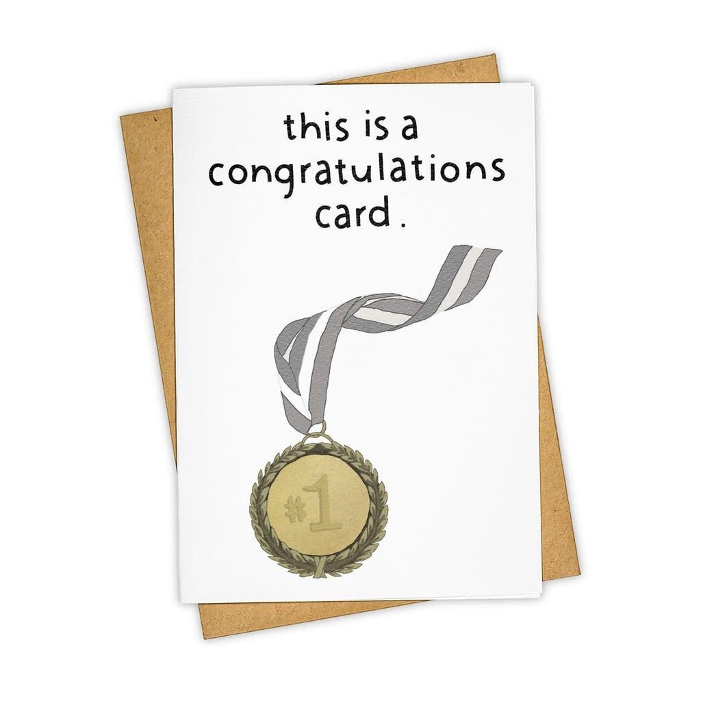 Tay Ham - TH THGCCO0002 - Congrats Medal Card