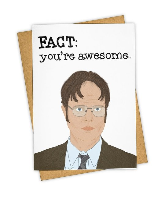 Tay Ham - TH THGCCO0003 - Fact You're Awesome Dwight Card
