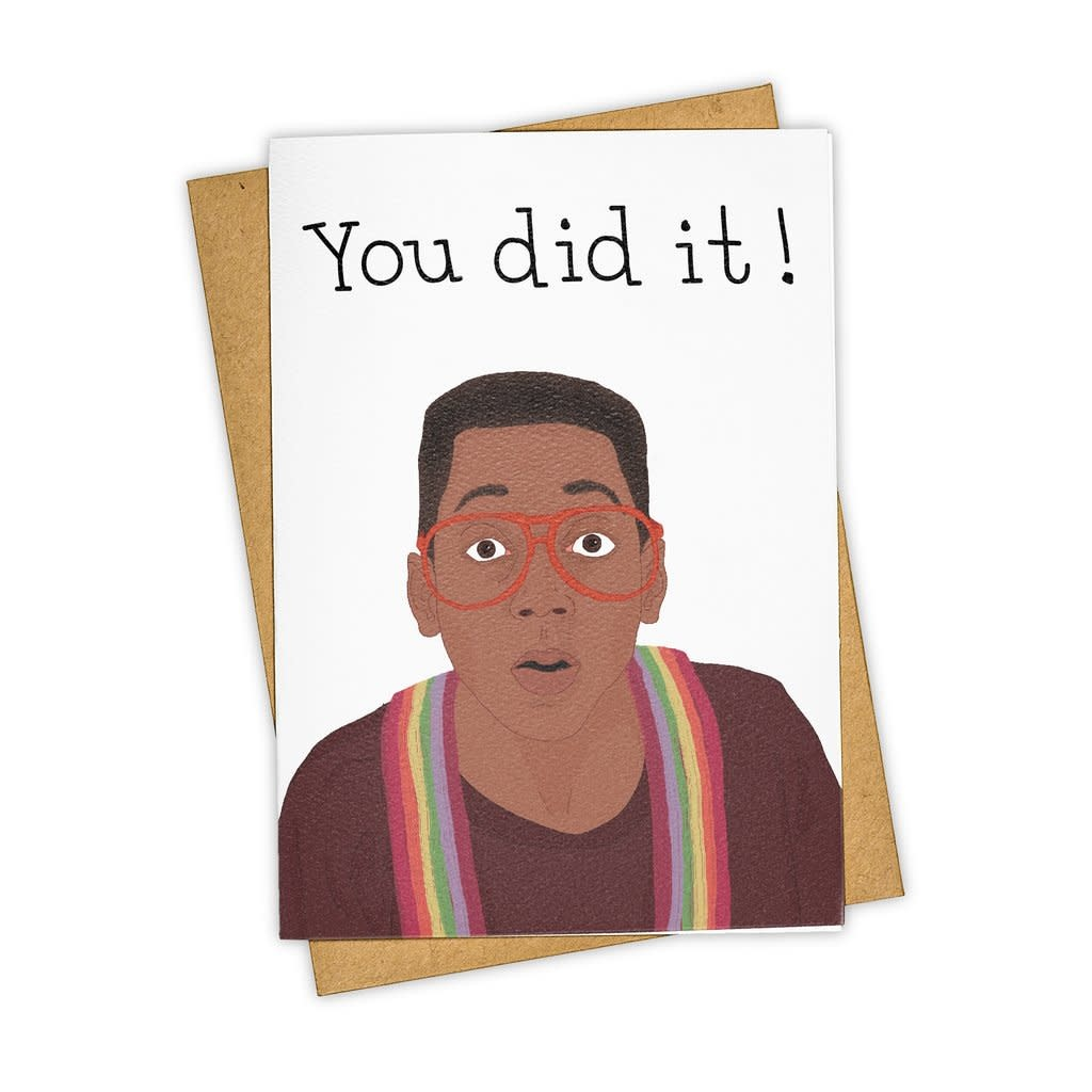 Tay Ham - TH THGCCO0004 - You Did it Urkle Card