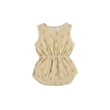 Rylee + Cru - RC Rylee + Cru Lemons Cinch Playsuit in Butter
