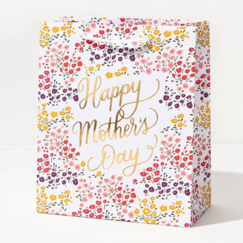 Waste Not Paper - WN Mother's Day Floral Medium Bag