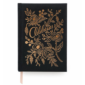 Rifle Paper Co - RP RP AB - Raven Address Book