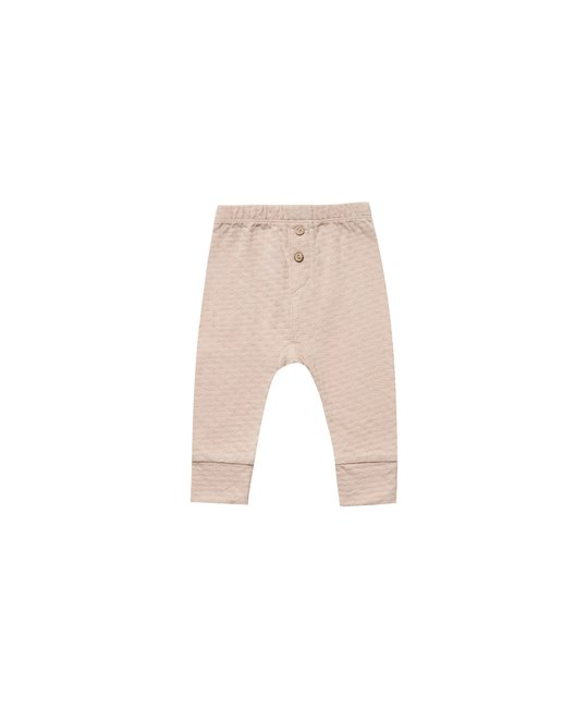Quincy Mae - QM QM BA - Pointelle Pajama Pant in Petal