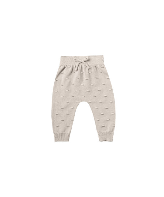 Quincy Mae - QM QM BA - Bailey Knit Pant in Fog