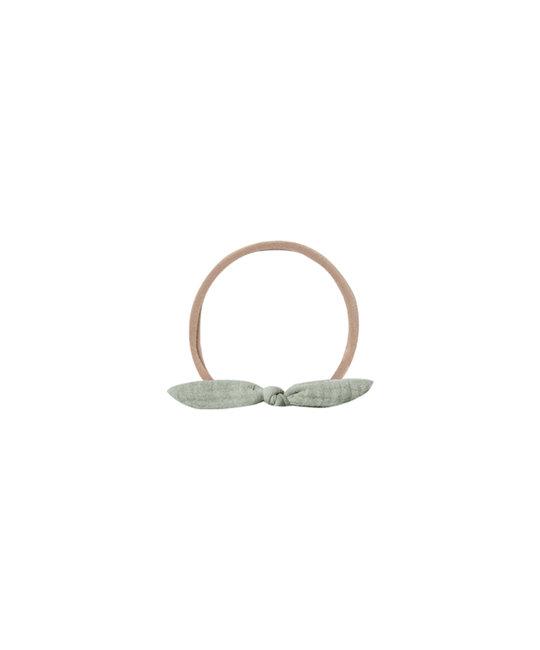 Quincy Mae - QM QM BA - Little Knot Headband in Sage