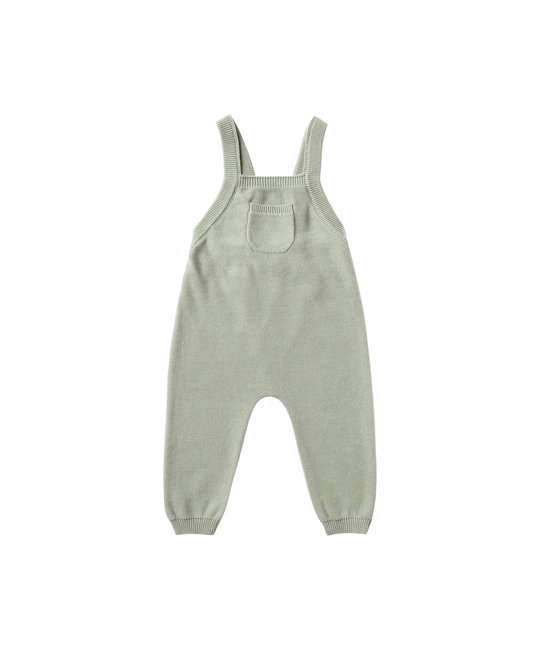 Quincy Mae - QM QM BA - Knit Overall in Sage