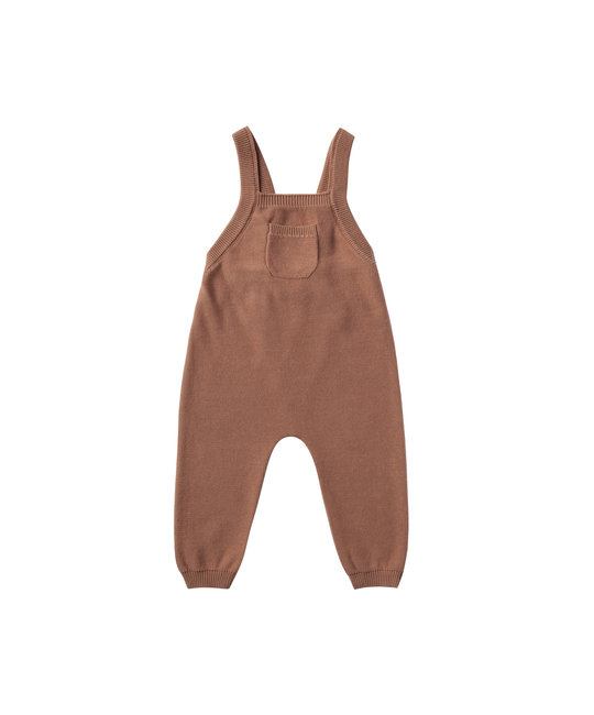 Quincy Mae - QM QM BA - Knit Overall in Clay