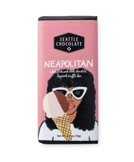 Seattle Chocolate - SC SC FAD - Neapolitan Truffle Bar