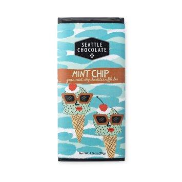 Seattle Chocolate - SC SC FAD - Mint Chip Truffle Bar