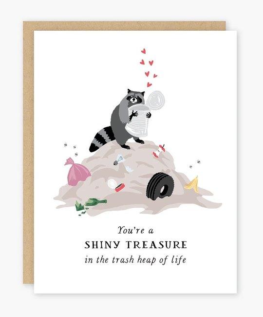 Party of One - POO Raccoon Shiny Treasure Card