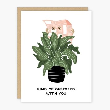 Party of One - POO Kind of Obsessed With You Card