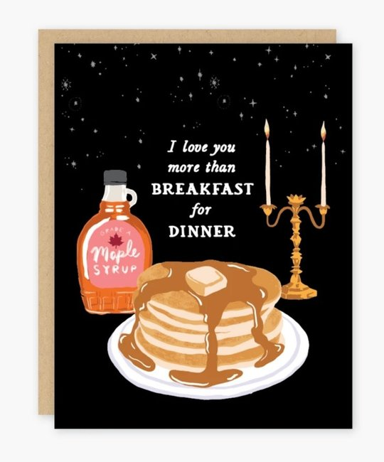 Party of One - POO I love you more than Breakfast for Dinner