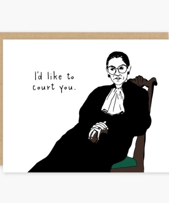 Party of One - POO POOGCLO0006 - RBG I'd Like to Court You