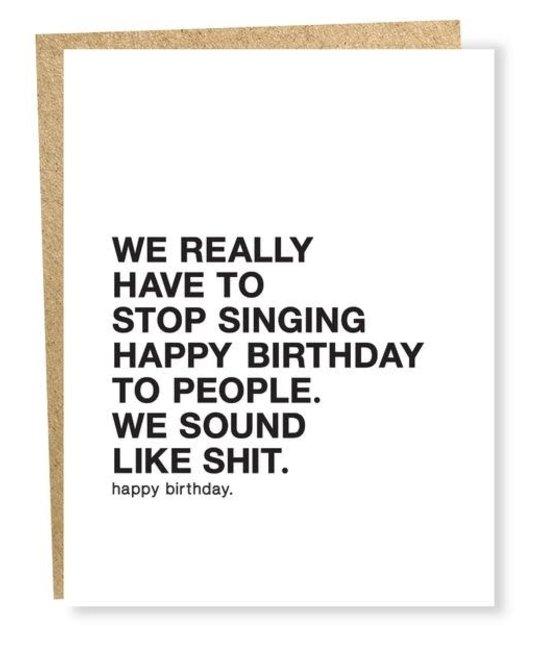 Sapling Press - SAP SAPGCBI0026 - Make A Wish: Stop Singing