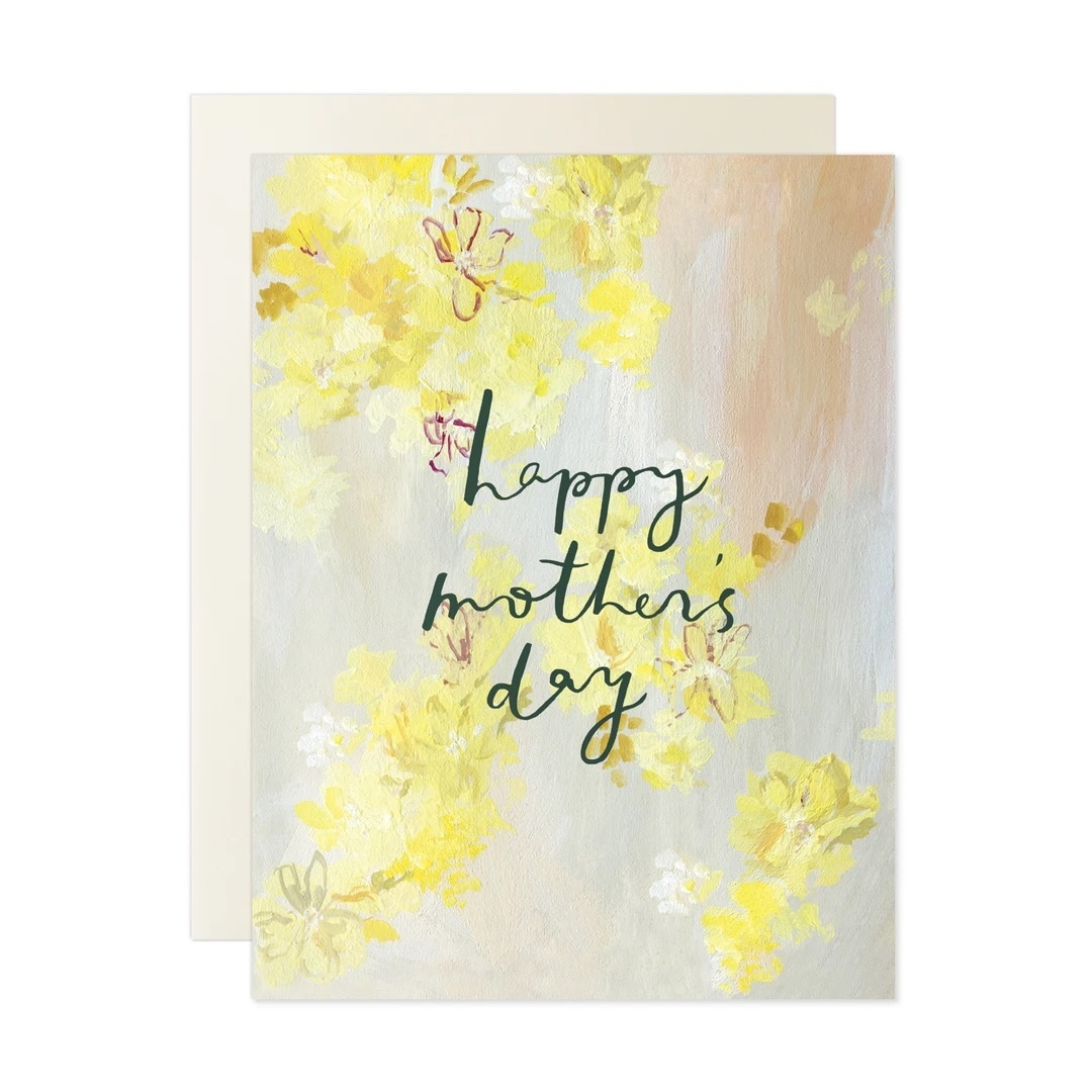 Our Heiday - OH Happy Mother's Day Yellow Floral Card