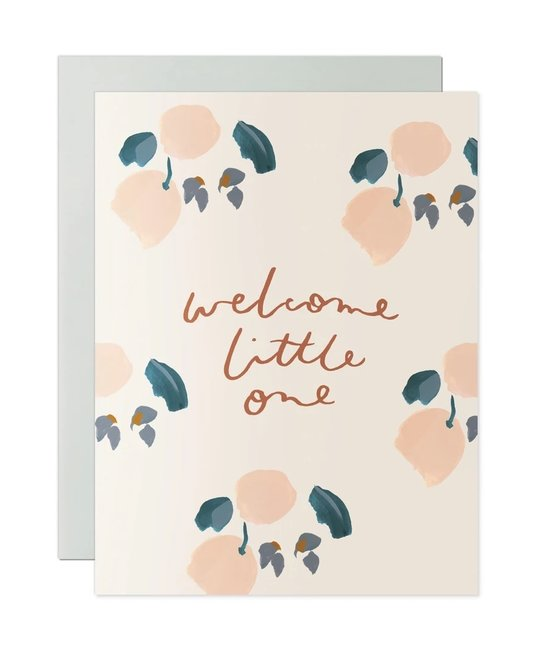 Our Heiday - OH Welcome Little One card