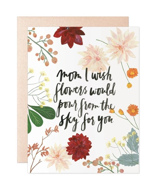 Our Heiday - OH Flowers for Mom Card