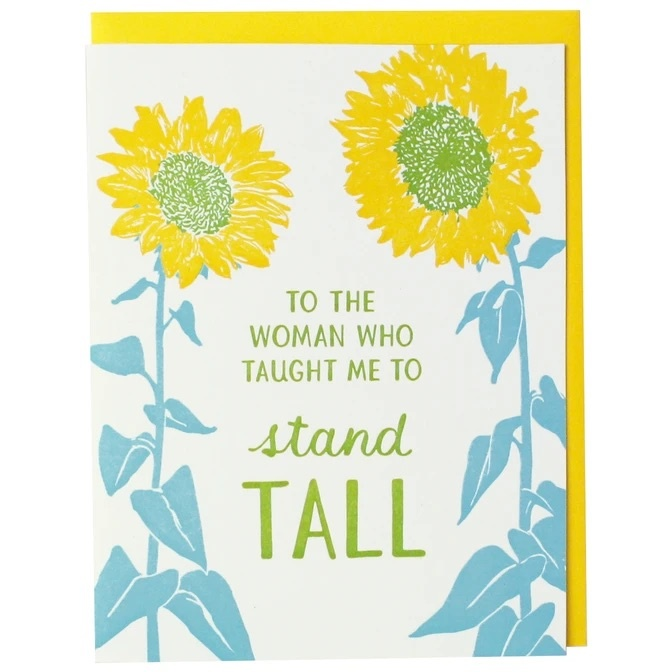 Smudge Ink - SI Sunflower Stand Tall Mother's Day card