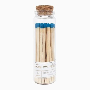 Frankie & Claude - FCL Indigo Long Stem Match Stick Jar