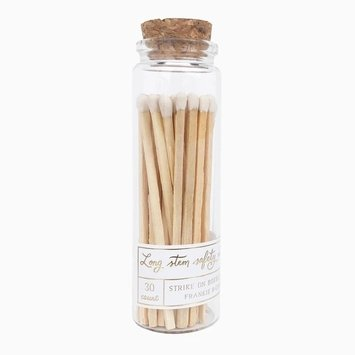 Frankie & Claude - FCL White Long Stem Match Stick Jar