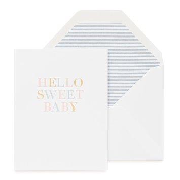 Sugar Paper - SUG Hello Sweet Baby Card