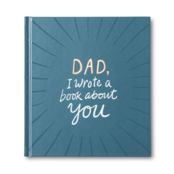 "Compendium - COM Dad, ""I Wrote a Book About You"" Fill In Book"