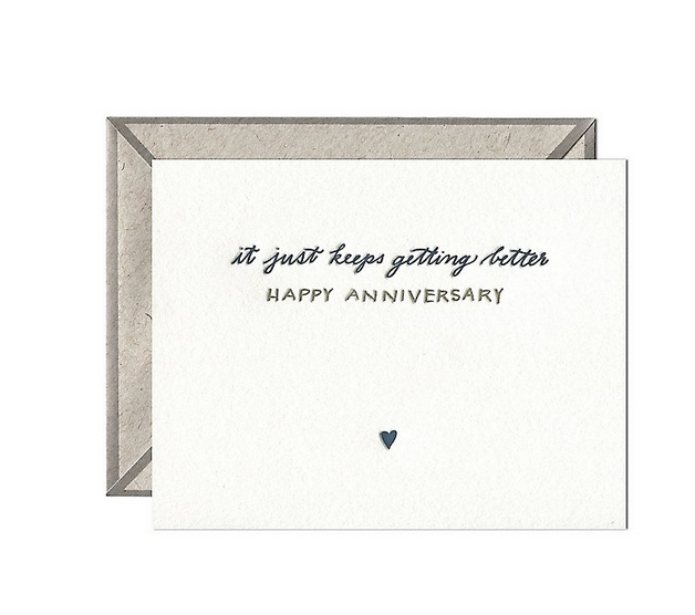 Ink Meets Paper - IMP Keeps Getting Better Anniversary Card