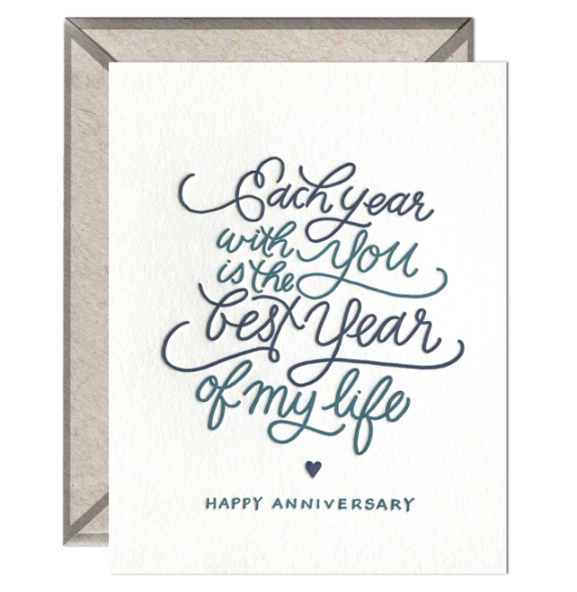 Ink Meets Paper - IMP Each Year with You Anniversary Card