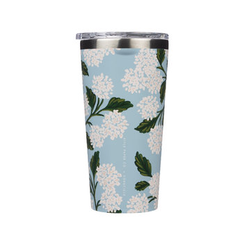Corkcicle - CO Corkcicle x Rifle Paper - Blue Hydrangea Tumbler