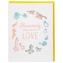 Smudge Ink - SI Stuffed Animal Baby Shower Card