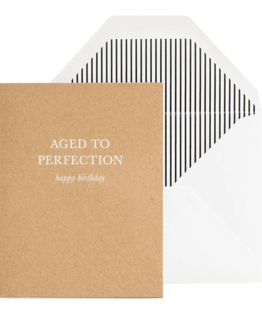 Sugar Paper - SUG Aged to Perfection Birthday Card